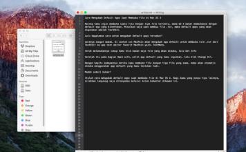 Cara Mengubah Default Apps Saat Membuka File di Mac OS X