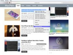 Cara Memunculkan Inspect Element (View Page Source) di Safari