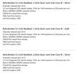 Macbook Refurbished