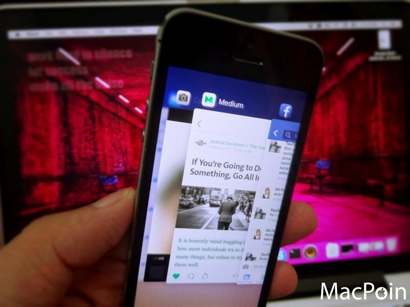 Mengenal Multitasking App Switcher di iOS