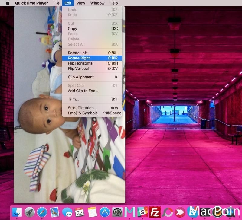 Cara Rotate Video di Mac OS X