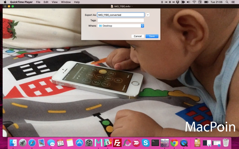 Cara Convert Video di Mac Tanpa Software Tambahan