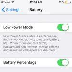 Mengenal Low Power Mode di iOS