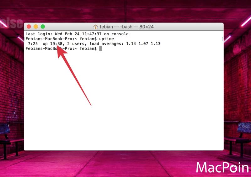 2 Cara Melihat Mac Uptime di OS X