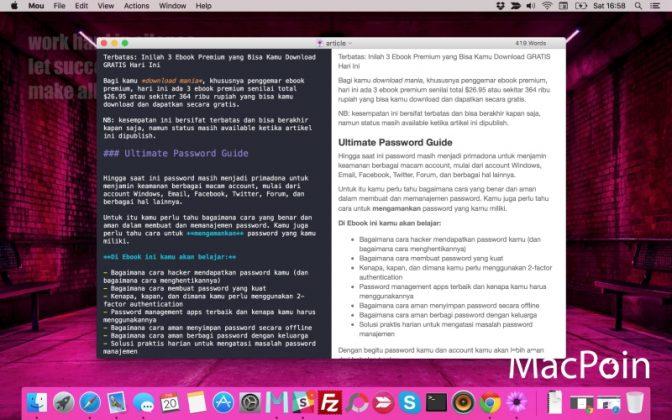 Mou vs MacDown: 2 Markdown Editor Terbaik untuk Mac