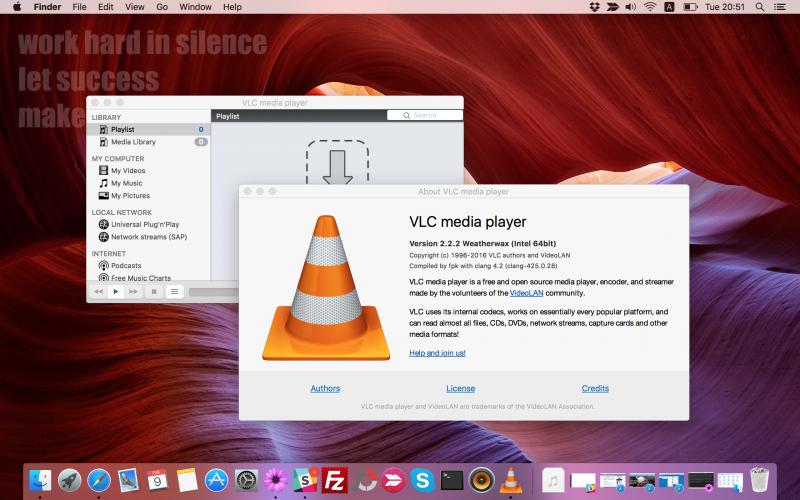 VLC 2.2.2 Dirilis dengan Full Support di OS X El Capitan