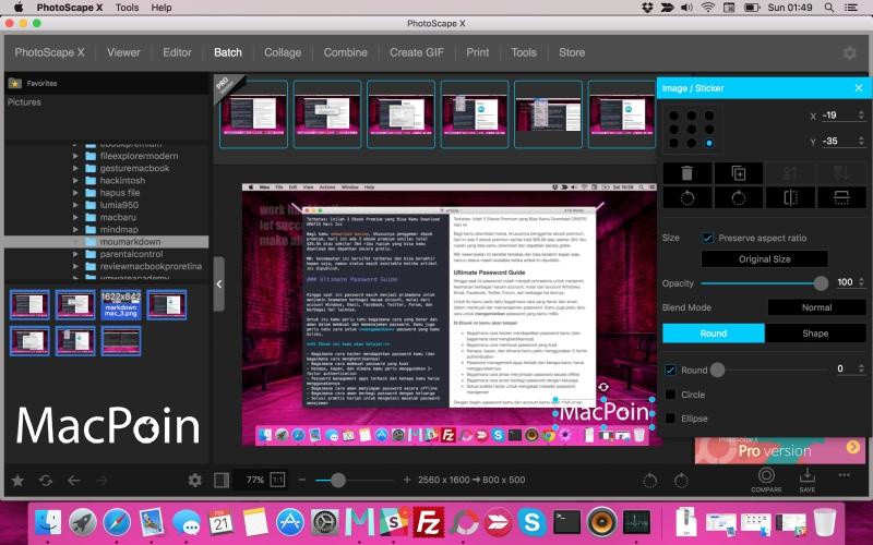 Cara Menambahkan Watermark ke Banyak Gambar Sekaligus di Mac