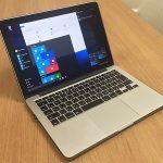 Review Windows 10 di Bootcamp Macbook Pro Retina