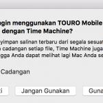 Backup Mac Kamu dengan Time Machine