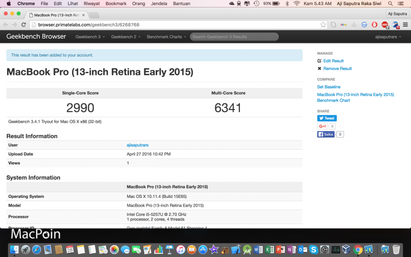 Perbandingan Kinerja OS X dan Windows di MacBook Pro Retina Display