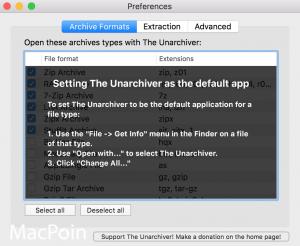 Cara Membuka Berbagai Format Kompresi di Mac