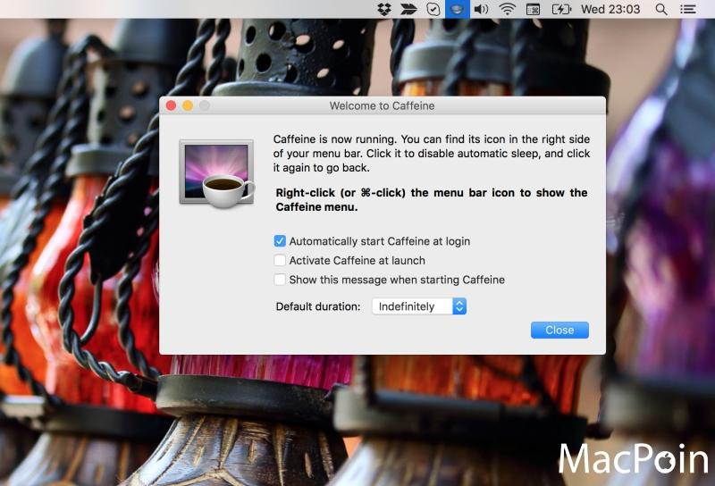 Mencegah Mac Sleep Otomatis dengan Caffeine (Review)