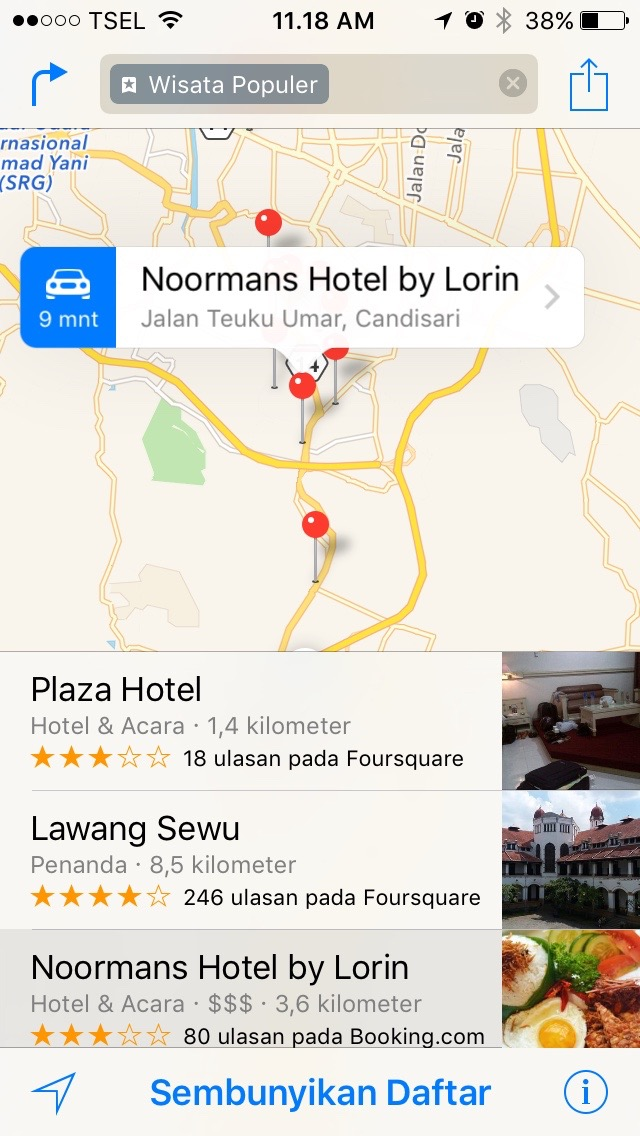 Sehebat Apakah Apple Maps di Indonesia?