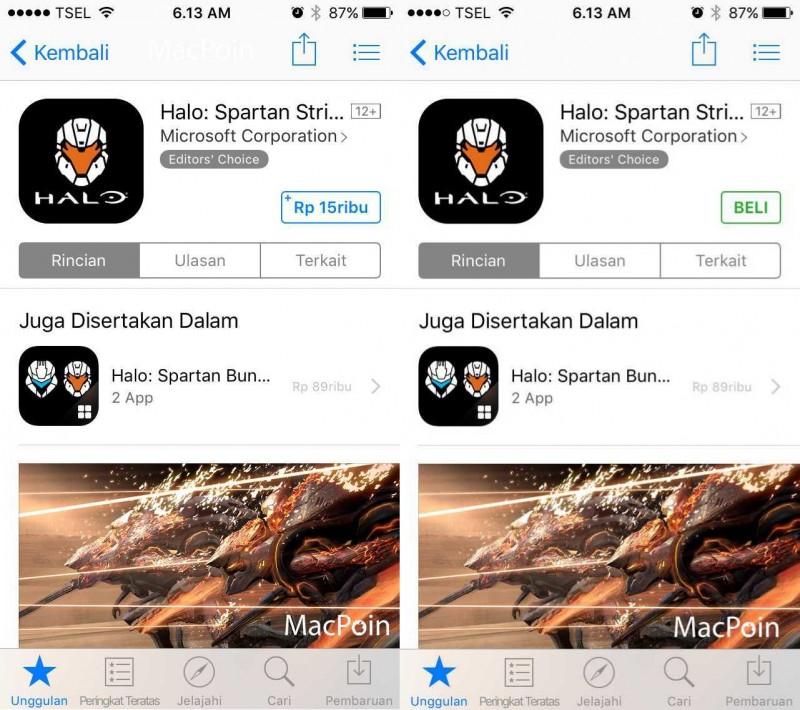 Cara Membeli Aplikasi dan Permainan di App Store