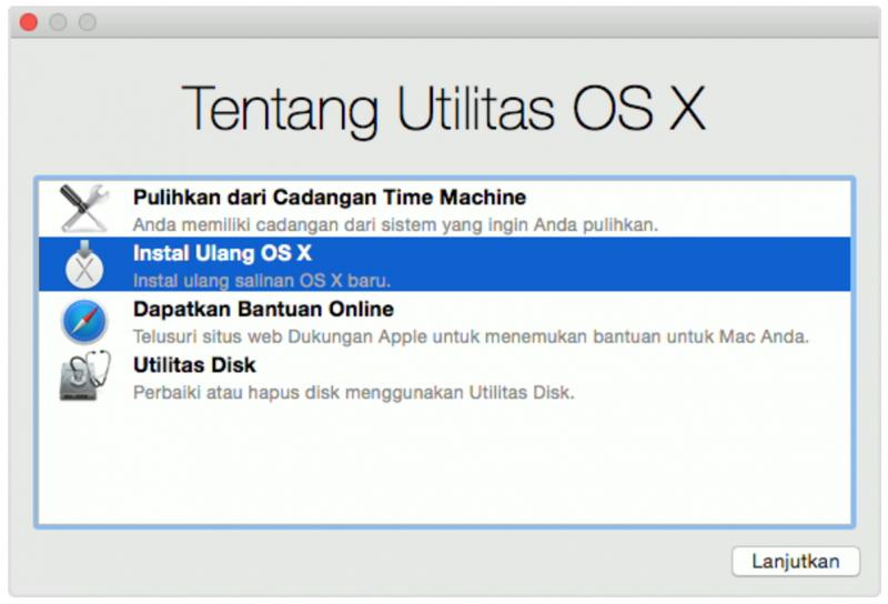 Begini ini Cara Install Ulang OS X yang Baik dan Benar