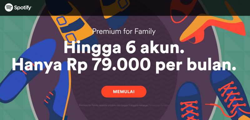 Spotify Turun Harga. Yuk Buruan Berlangganan!