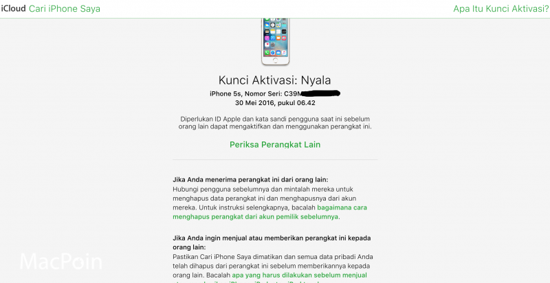 Mengenal Fitur Activation Lock di iPhone