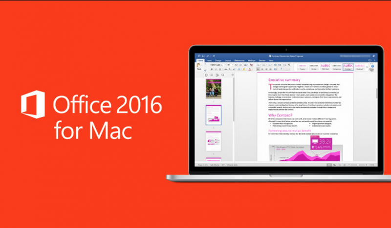 Microsoft Office 2016 for Mac Mendapatkan Update Penting