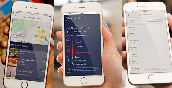 Review Apple Maps vs HERE Maps