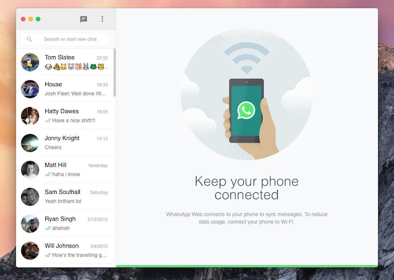 Aplikasi WhatsApp Akan Tersedia di Mac OS X dan Windows?
