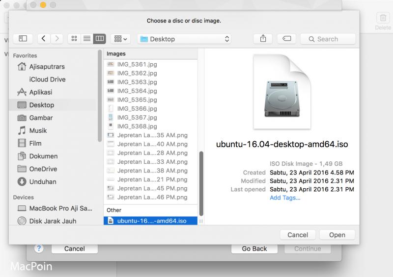 Cara Install Ubuntu di VMWare Fusion