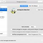 Cara Mengamankan Sistem OS X dari Orang Lain