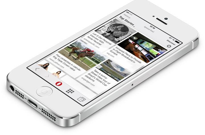 Begini Cara Hemat Kuota iOS Dengan Opera Mobile