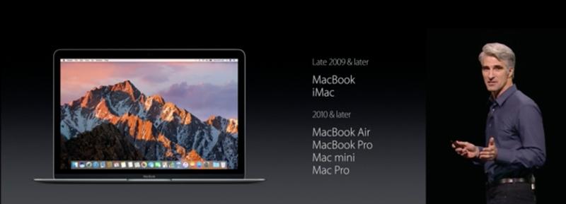 Lihat Apakah Perangkatmu Mendukung macOS Sierra
