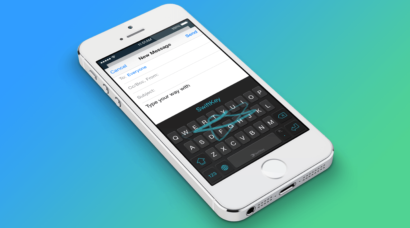 Yuk Cobain Swiftkey Keyboard di iOS