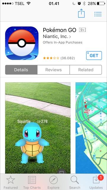 Tidak Bisa Mengunduh Pokemon Go? Begini Caranya