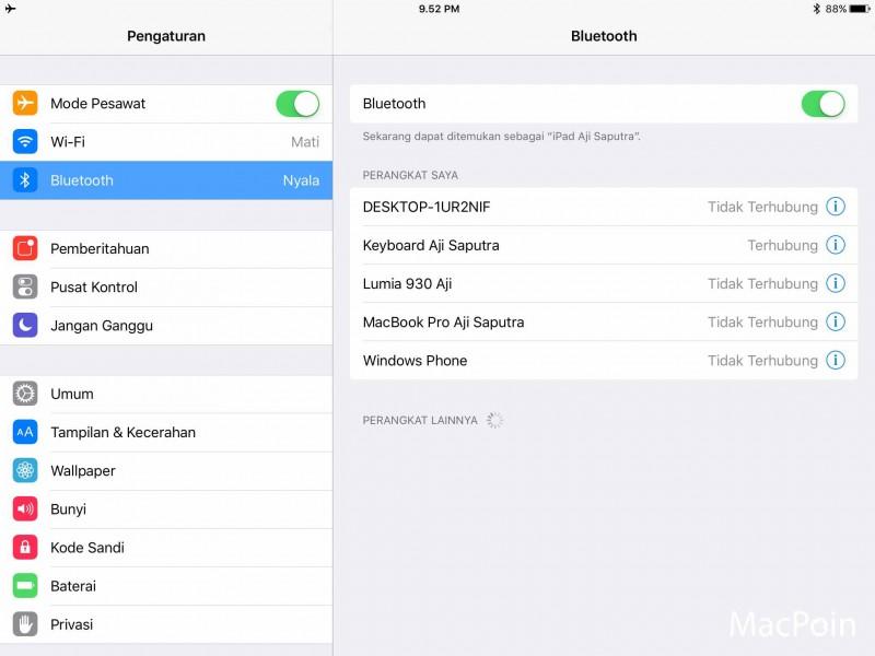 Cara Menyambungkan Apple Magic Keyboard ke iPad