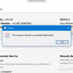 Cara Deauthorize iPhone pada iTunes di Komputer Windows (3)