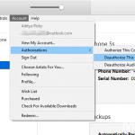 Cara Deauthorize iPhone pada iTunes di Komputer Windows (4)