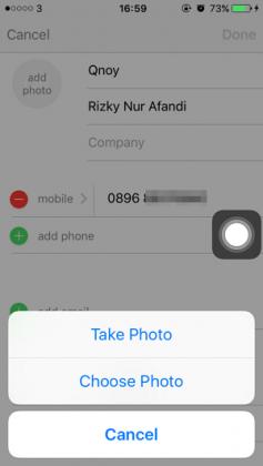 Cara Memasang Foto pada Kontak iPhone (3)