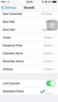 Cara Mematikan Suara Ketika Mengetik di iPhone (2)