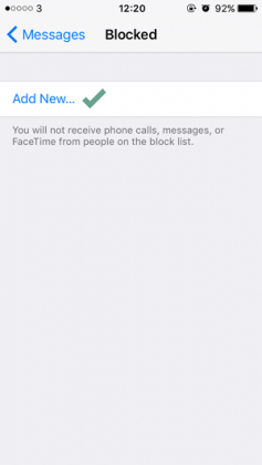 Cara Memblokir Kontak pada iMessage dan Phone di iPhone (3)