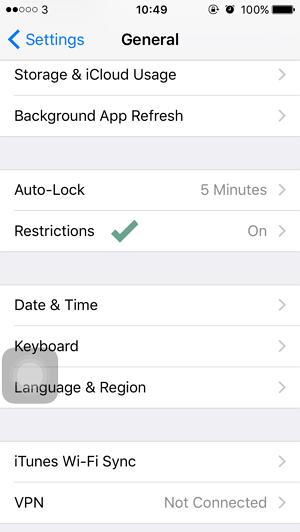 Cara Memblokir Website pada iPhoneiPad (1)