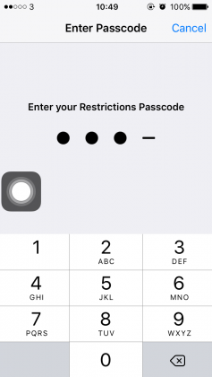 Cara Memblokir Website pada iPhoneiPad (4)