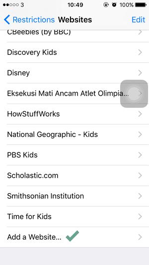 Cara Memblokir Website pada iPhoneiPad (7)