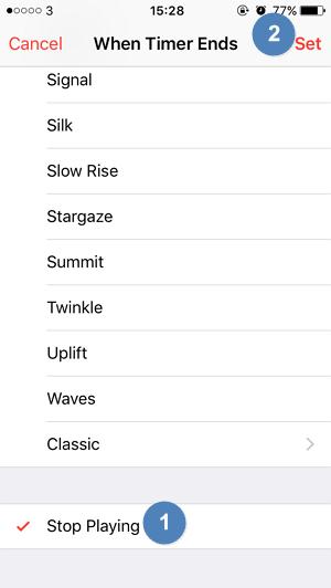 Cara Membuat Sleep Timer pada iPhone iPad (4)