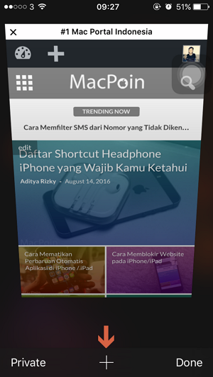 Cara Menutup Semua Tab Sekaligus pada Safari iPhone iPad (4)