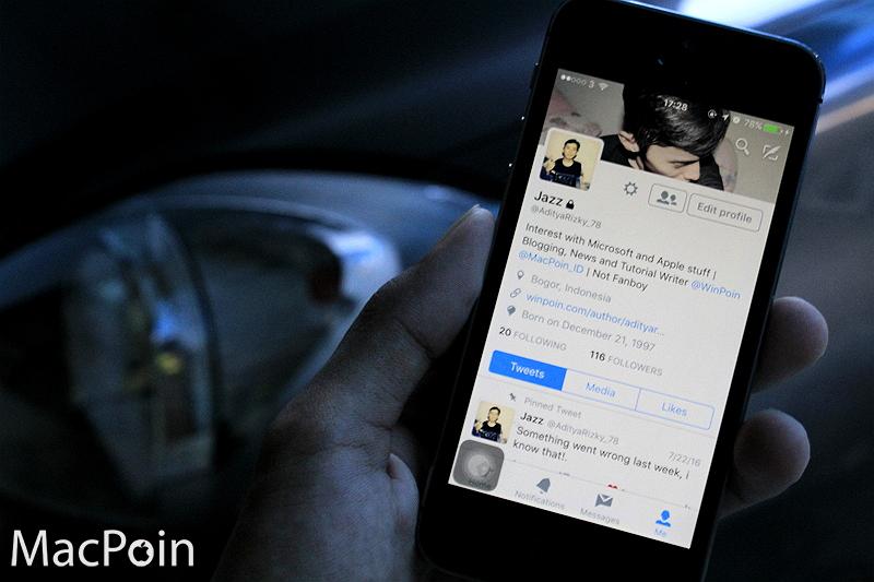 Cara Memproteksi Tweet Kamu di iPhone (1)