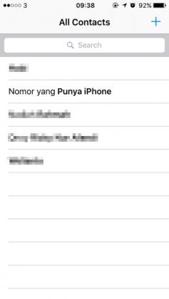 Cara Menambahkan Akun Sosmed pada Kontak iPhone (2)