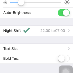 Cara Mengaktifkan Mode Night Shift di iPhone iPad (iOS 9 (2)