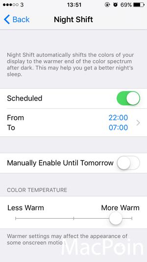 Cara Mengaktifkan Mode Night Shift di iPhone  iPad (iOS 9 (5)