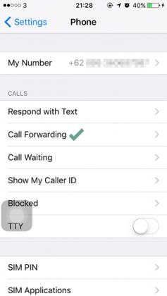 Cara Mengalihkan Panggilan di iPhone ke Nomor Lain (3)