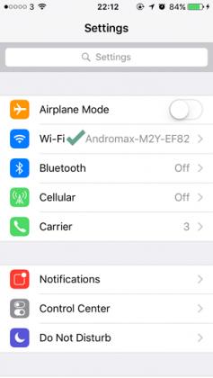 Cara Mengetahui IP Address pada iPhoneiPad (2)