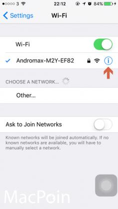 Cara Mengetahui IP Address pada iPhoneiPad (3)