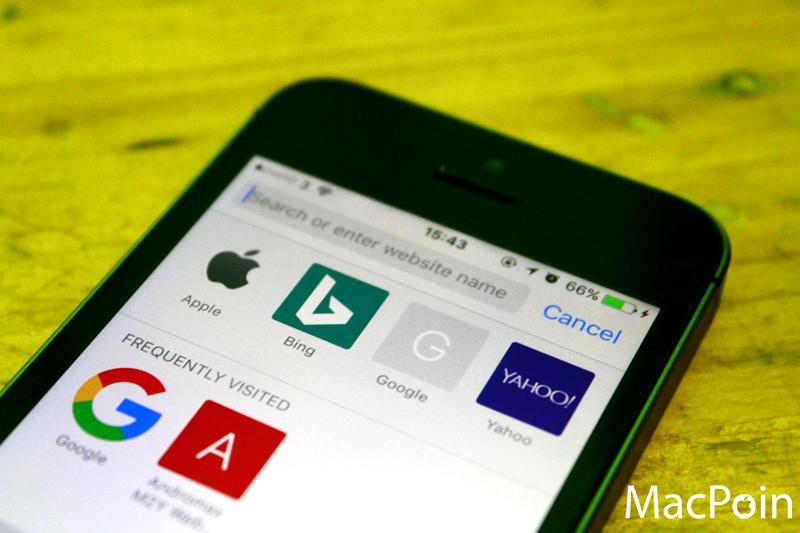 Cara Mengganti Default Search Engine Safari di iPhone (1)
