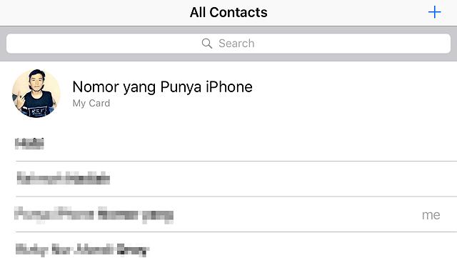 Cara Mengganti Urutan Kontak pada iPhone (1)